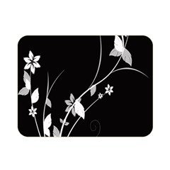 Plant Flora Flowers Composition Double Sided Flano Blanket (mini)  by Simbadda