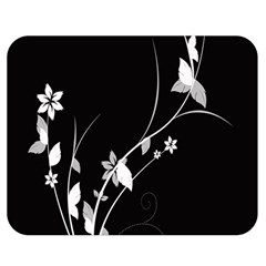 Plant Flora Flowers Composition Double Sided Flano Blanket (medium)  by Simbadda