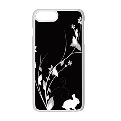 Plant Flora Flowers Composition Apple Iphone 7 Plus White Seamless Case by Simbadda