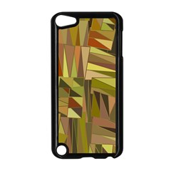 Earth Tones Geometric Shapes Unique Apple Ipod Touch 5 Case (black) by Simbadda