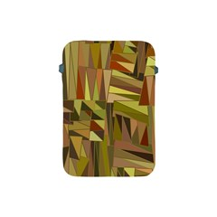 Earth Tones Geometric Shapes Unique Apple Ipad Mini Protective Soft Cases by Simbadda