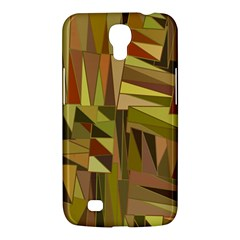 Earth Tones Geometric Shapes Unique Samsung Galaxy Mega 6 3  I9200 Hardshell Case by Simbadda