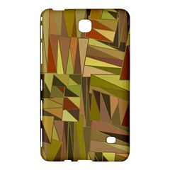 Earth Tones Geometric Shapes Unique Samsung Galaxy Tab 4 (7 ) Hardshell Case  by Simbadda