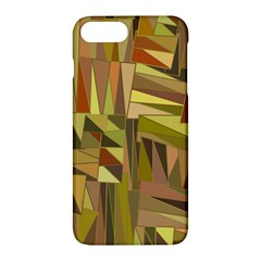 Earth Tones Geometric Shapes Unique Apple Iphone 7 Plus Hardshell Case by Simbadda