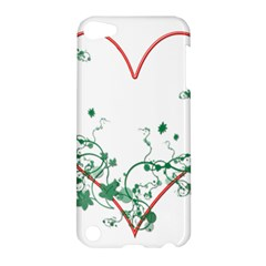 Heart Ranke Nature Romance Plant Apple Ipod Touch 5 Hardshell Case by Simbadda