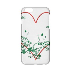 Heart Ranke Nature Romance Plant Apple Iphone 6/6s Hardshell Case by Simbadda