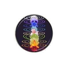 Chakra Spiritual Flower Energy Hat Clip Ball Marker (4 Pack) by Simbadda