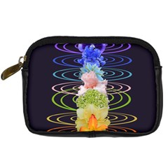 Chakra Spiritual Flower Energy Digital Camera Cases by Simbadda