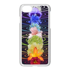 Chakra Spiritual Flower Energy Apple Iphone 7 Seamless Case (white) by Simbadda