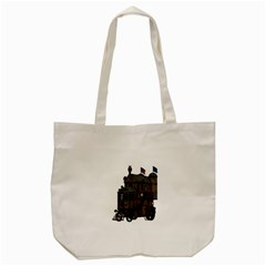Steampunk Lock Fantasy Home Tote Bag (cream) by Simbadda
