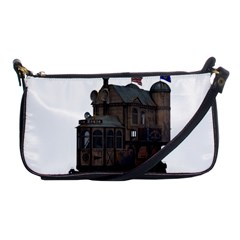 Steampunk Lock Fantasy Home Shoulder Clutch Bags by Simbadda