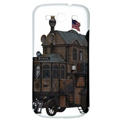Steampunk Lock Fantasy Home Samsung Galaxy S3 S Iii Classic Hardshell Back Case by Simbadda