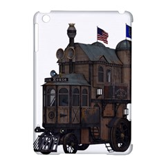 Steampunk Lock Fantasy Home Apple Ipad Mini Hardshell Case (compatible With Smart Cover) by Simbadda