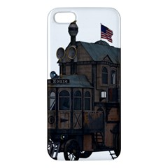 Steampunk Lock Fantasy Home Apple Iphone 5 Premium Hardshell Case by Simbadda
