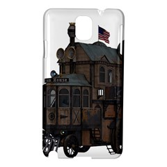 Steampunk Lock Fantasy Home Samsung Galaxy Note 3 N9005 Hardshell Case by Simbadda