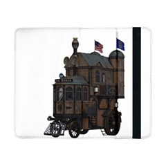 Steampunk Lock Fantasy Home Samsung Galaxy Tab Pro 8 4  Flip Case by Simbadda