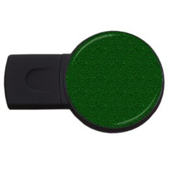 Texture Green Rush Easter Usb Flash Drive Round (2 Gb)