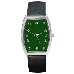 Texture Green Rush Easter Barrel Style Metal Watch by Simbadda