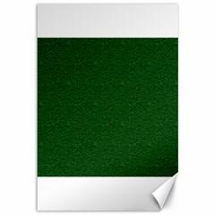 Texture Green Rush Easter Canvas 12  X 18   by Simbadda