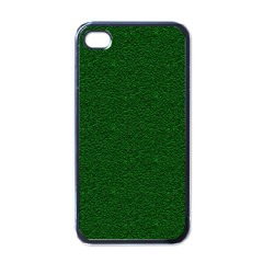 Texture Green Rush Easter Apple Iphone 4 Case (black) by Simbadda
