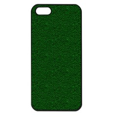Texture Green Rush Easter Apple Iphone 5 Seamless Case (black) by Simbadda