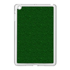 Texture Green Rush Easter Apple Ipad Mini Case (white) by Simbadda