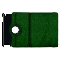 Texture Green Rush Easter Apple Ipad 2 Flip 360 Case by Simbadda