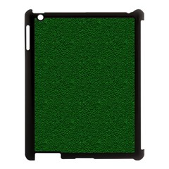 Texture Green Rush Easter Apple Ipad 3/4 Case (black) by Simbadda