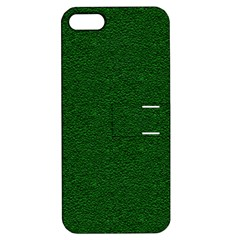 Texture Green Rush Easter Apple Iphone 5 Hardshell Case With Stand by Simbadda