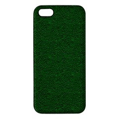 Texture Green Rush Easter Iphone 5s/ Se Premium Hardshell Case by Simbadda