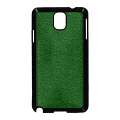 Texture Green Rush Easter Samsung Galaxy Note 3 Neo Hardshell Case (black) by Simbadda