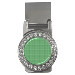 Green1 Money Clips (cz)  by PhotoNOLA