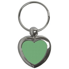 Green1 Key Chains (heart)  by PhotoNOLA
