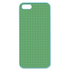 Green1 Apple Seamless Iphone 5 Case (color) by PhotoNOLA