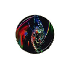 Abstraction Dive From Inside Hat Clip Ball Marker (4 Pack) by Simbadda