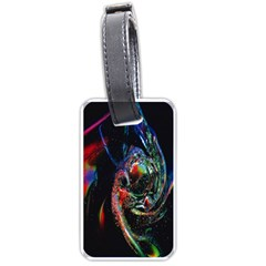 Abstraction Dive From Inside Luggage Tags (two Sides) by Simbadda