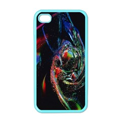 Abstraction Dive From Inside Apple Iphone 4 Case (color)