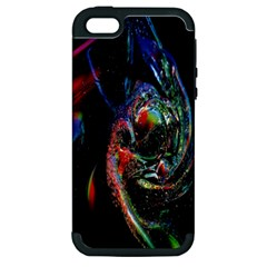 Abstraction Dive From Inside Apple Iphone 5 Hardshell Case (pc+silicone) by Simbadda