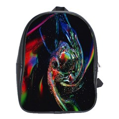 Abstraction Dive From Inside School Bags (xl)  by Simbadda