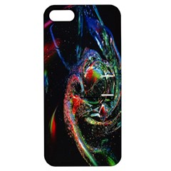 Abstraction Dive From Inside Apple Iphone 5 Hardshell Case With Stand by Simbadda