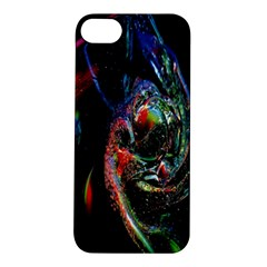 Abstraction Dive From Inside Apple Iphone 5s/ Se Hardshell Case by Simbadda