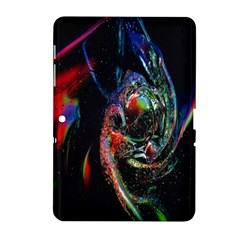 Abstraction Dive From Inside Samsung Galaxy Tab 2 (10 1 ) P5100 Hardshell Case  by Simbadda