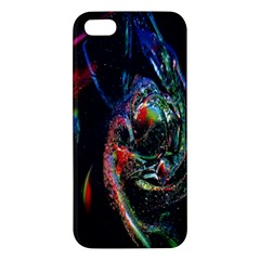 Abstraction Dive From Inside Iphone 5s/ Se Premium Hardshell Case by Simbadda