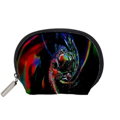 Abstraction Dive From Inside Accessory Pouches (small)  by Simbadda