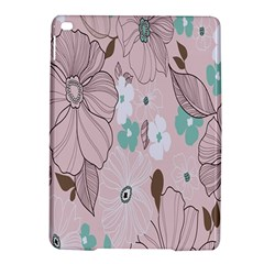 Background Texture Flowers Leaves Buds Ipad Air 2 Hardshell Cases by Simbadda