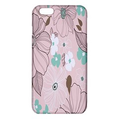 Background Texture Flowers Leaves Buds Iphone 6 Plus/6s Plus Tpu Case by Simbadda