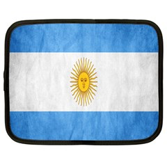 Argentina Texture Background Netbook Case (large) by Simbadda