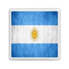 Argentina Texture Background Memory Card Reader (square)  by Simbadda