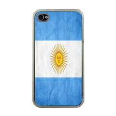 Argentina Texture Background Apple Iphone 4 Case (clear) by Simbadda