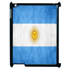 Argentina Texture Background Apple Ipad 2 Case (black) by Simbadda